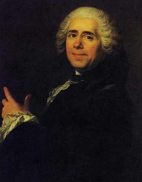 ピエール・ド・マリヴォー肖像画