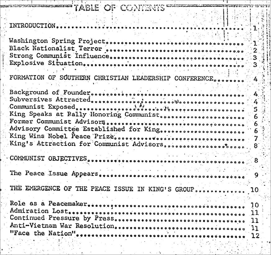 キング牧師の機密文書(トランプがFBIに公開命令)