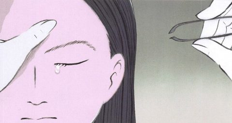 かぐや姫の物語 眉毛を抜く